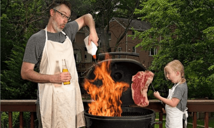 Father's Day Mother Pukka parenting the shit out of life