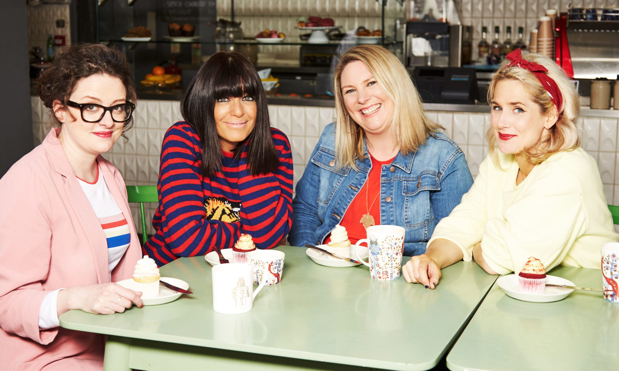 Claudia Winkleman stars alongside the Scummy Mummies and Mother Pukka to confess parenting fibs ahead of Big Little Lies (2)
